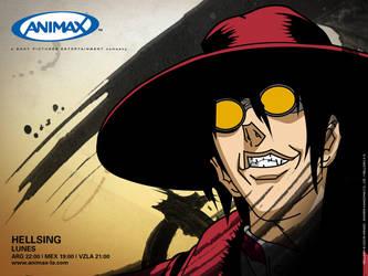 ANIMAX Latinoamerica 2006 Hellsing by debbiichan