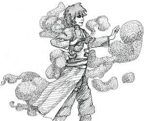 Gaara - Naruto inktober by Lutessius