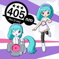 405nm Pony Mix by DJ-BLU3Z