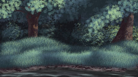 Landscape Practice: Forest by TheadoraWolf