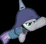 Maud Pie Flying by Spyro4287