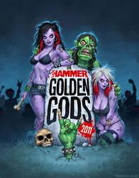 Golden Gods 2011 by MattDixon