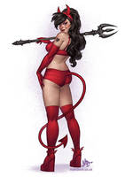Devil Girl by MattDixon