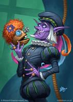 Pompous Thespian by MattDixon