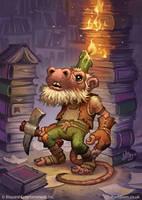 Kobold Librarian by MattDixon