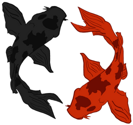 Ying Yong - Dual Fish by woner-infographiste