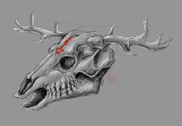 Skull by nessie904