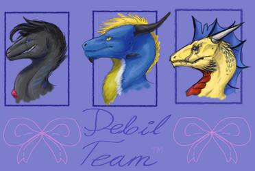 Debil Team by nessie904