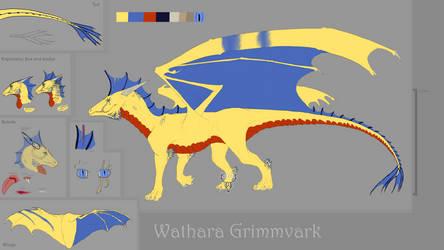 Wathara Grimmvark reference [2019] by nessie904