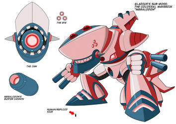 Superweapon Type S-VB 557 Megalodon by Exerionz