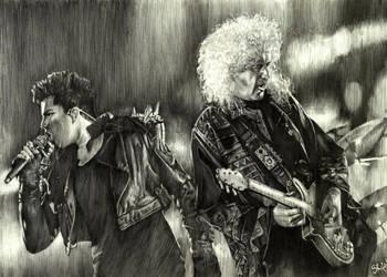 Queen ft. Adam Lambert by ZW1138
