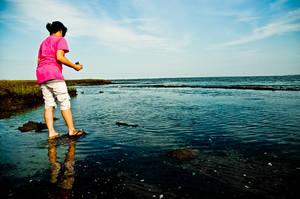Woman is on Water. by Mmrkhaz