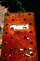 Mike D on Rust Metal by Mmrkhaz