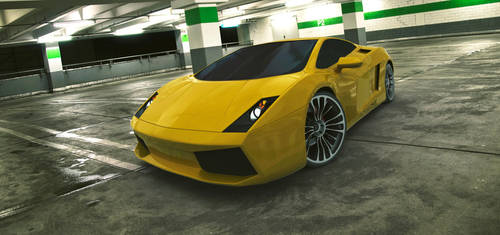 Lamborghini Gallardo by 2-0-1-9