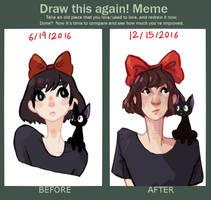 Draw it again - Kiki by wigglebees