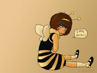 The Cutest Little Bumblebee by DoodleBuggy