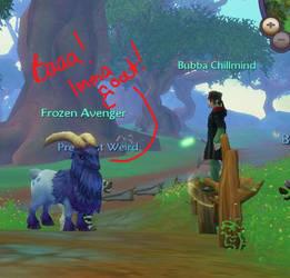 Baaaaa....Goat by Avi-the-Avenger