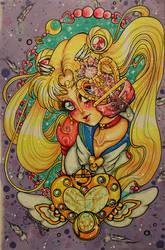 Silver Moon Crystal Power Kiss by shabukib