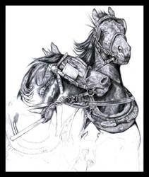 Harness Horses W.I.P 2 by darkangels280