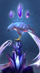Articuno.painting practice by L-Y-N-S