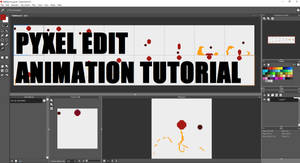 Pyxel Edit Animation Tutorial: YOUTUBE LINK BELOW! by slyshand