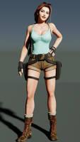 Lara52 by Hiddenus