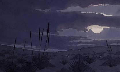 Pale Moon by shwippie