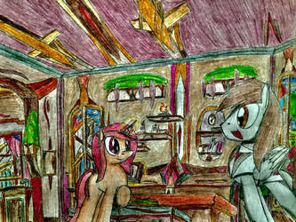 MLP: Typhoon inside the Memories home by Paladin360