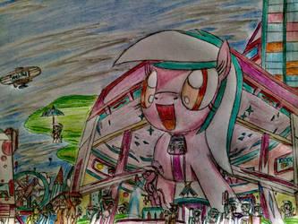 MLP: The Sketch Pad fun fun hotel by Paladin360