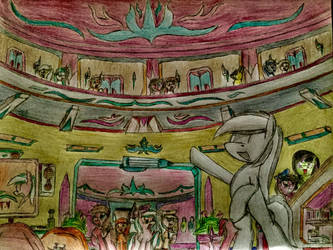 MLP: Sketch Pad Hotel room by Paladin360