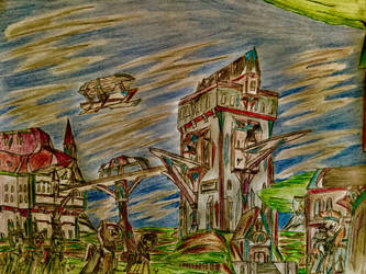 MLP: The Novodel Tower by Paladin360