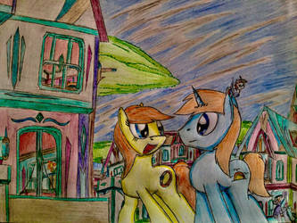 MLP: Just like old time by Paladin360