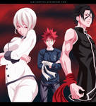 Shokugeki no Souma | Salmon Team by AJM-FairyTail