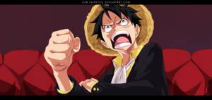 Luffy by AJM-FairyTail