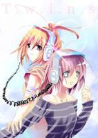 Twins by aiki-ame
