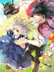 Howl's moving castle - Halcyon by aiki-ame