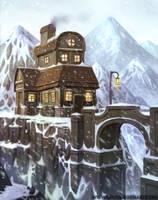 Mountain house by LouisGreen
