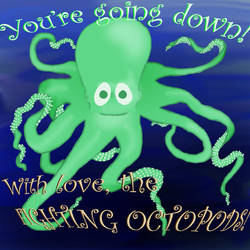 Octopod Card by tregetry