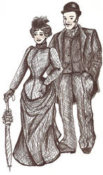 Victorian Fair Couple by tregetry