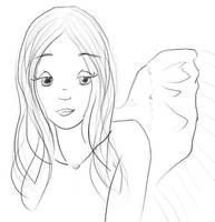 Angel Rebecca by lorikitty