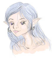 elven thought by lorikitty
