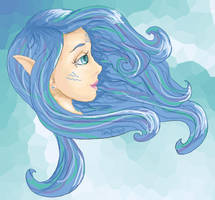 water fairy by lorikitty