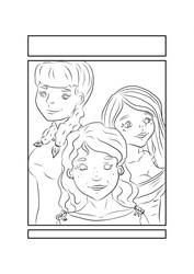 Seras Love - Cover outline by lorikitty