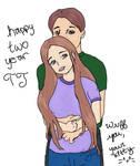 TJ and lori year two by lorikitty