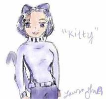 purple kitty - lorikitty by lorikitty