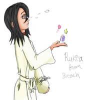 rukia art-trade with xaristax by lorikitty