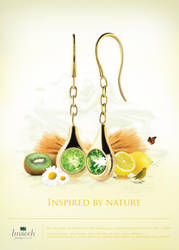Summer Ad Inspired by Nature by zkzook