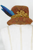 Renaissance Woodcut Hat by paedess