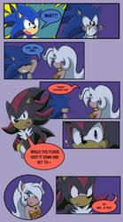 Xela Meet Sonic: PG 9 by Shadow4one