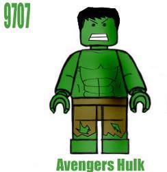 Lego Hulk by webhead9707